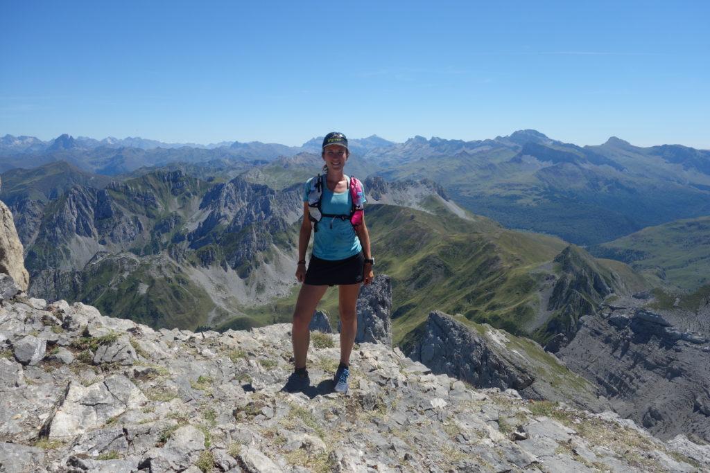 La vue depuis le Pic d'Ansabère se mérite après 1200 m de dénivelé positif