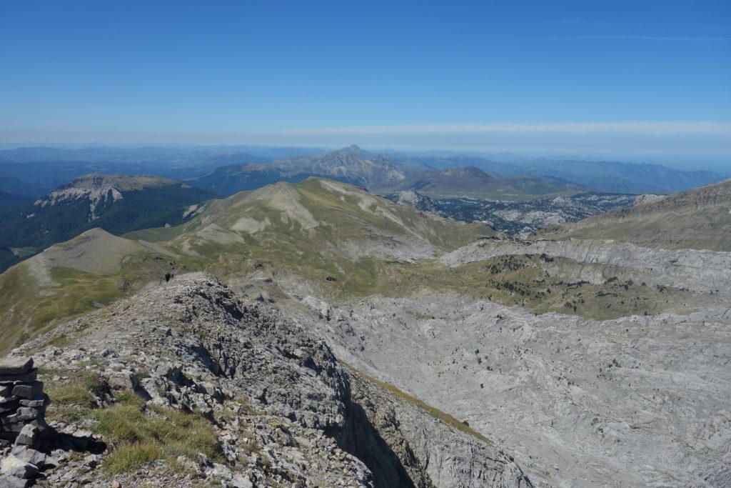Montée au Pic d'Ansabère depuis le Col de Pétragème